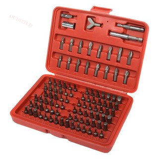100pc Security Bit Set Torx Star Tamper Screws