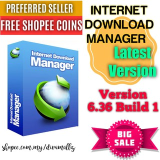 🔥SALES!! INTERNET DOWNLOAD MANAGER IDM LATEST VERSION MURAH (BUILD 6.36)