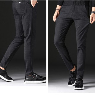 video korean version of the trousers personality large size black pants