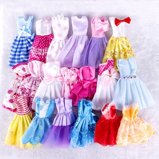 READY STOCKBarbie Clothes Mini Dress Fashion For Gown Handmade Doll
