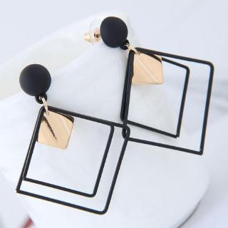 Korean Fashion Geometric Women's Dangle Earrings Accessories