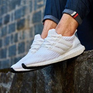 Adidas Ultra Boost original men&women running shoes white casual Sports unisex ready stock