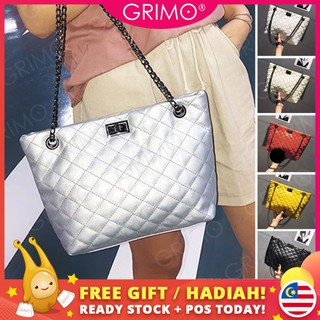 READY STOCK🍀GRIMO Engage Chain Shoulder Bag Beg Tangan Wanita Women's Handbag Tote Bags Perempuan Travel Sling Bag