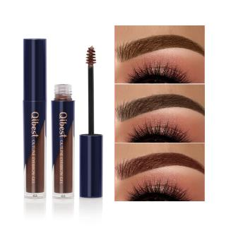QIBEST Professional 5 Color Waterproof Eyebrow Paste Non-blooming Three-dimensional Thick