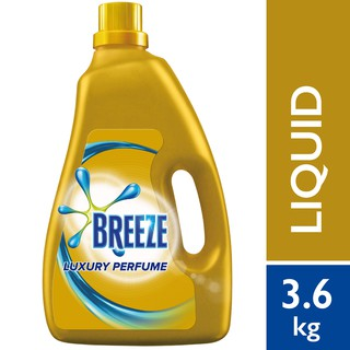 Breeze Detergent Liquid Luxury Perfume (3.6kg)