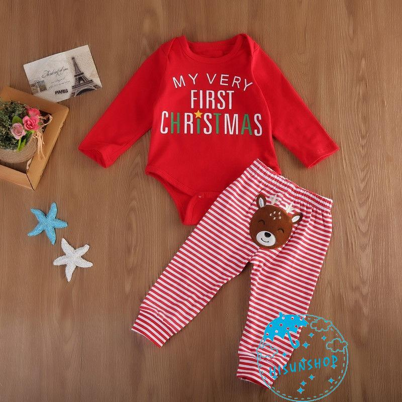 PH.-About autumn newborn baby boy girl detail christmas dress dress striped