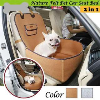 Pet Bed Pad Felt Cloth Waterproof Protecting Dogs Cats for Cars SUVs (Grey)