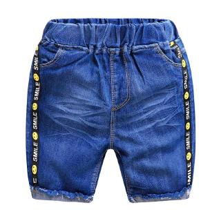 2-8Years Children's Shorts Boy Denim Shorts Cotton Bomb Denim Pants Soft Cowboy Summer Style