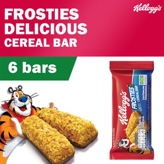Kellogg's Frosties Cereal Bar (26g x 6)