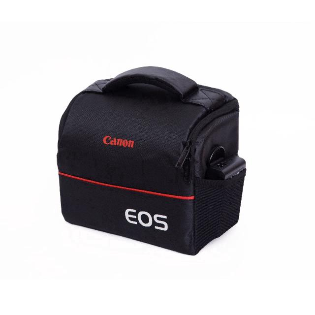 LJ EOS camera bag ready shock protection