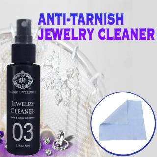 Silver Jewelry Necklace Ring Clean Polishing Cloth Gold Block Cleaner
