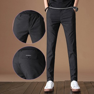 Casual Pants Men Thin Men's Pants Korean Edition Slim Pants Men's Business Break