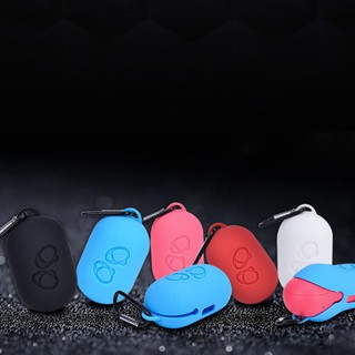 Silicone Bluetooth Wireless Earphone Bag Case Storage For Samsung Gear Icon X 2018