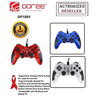 JITE GP108 USB2.0 VIBRATION 17 BUTTONS GAME CONTROLLER GAMEPAD FOR PC LAPTOP