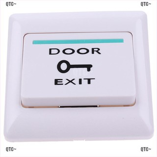 QTC~ Exit Push Release Button Switch For Electric magnetic Lock Door Access Control