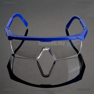 stock!Safety Eye Protection Clear Lens Goggles Glasses From Lab Dust Paint L【siyuyan.my】