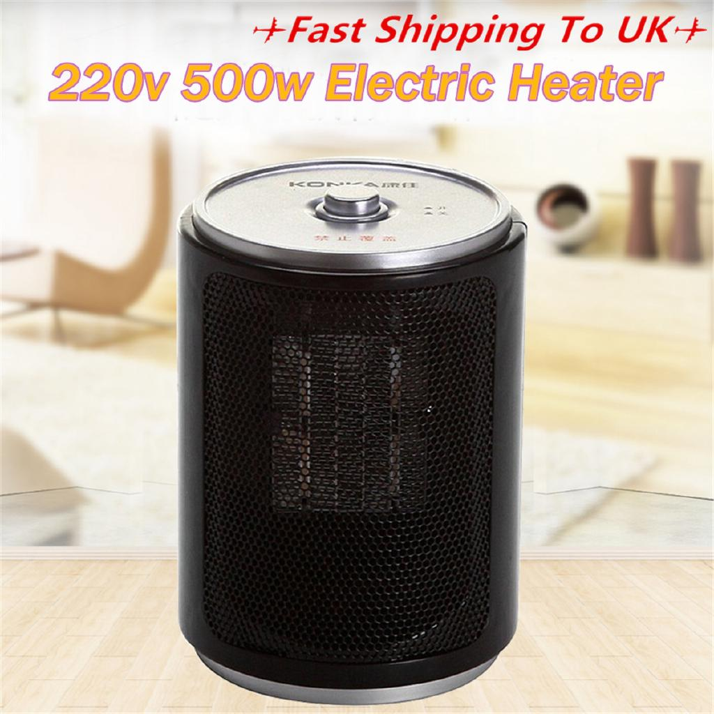 500W Portable Electric Desk Mini Air Heater Fan Home Warmer Heating Winter 220V