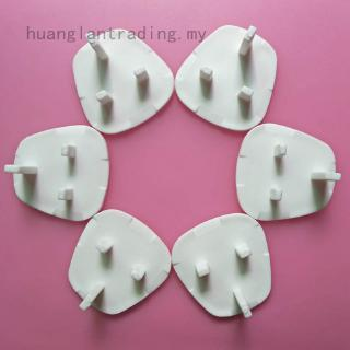 12 Pcs Plug Socket Covers Babies Children's Safety Protector For UK 3 Pin Sockets