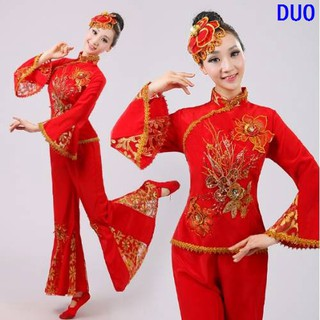 Best Quality Boutique Recommended Song Costume Dance Dress Adult Square Dance Fa