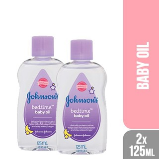 Johnson's Baby Bedtime Oil (125ml x 2)Nilai Hebat
