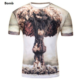 3D Unisex T SHIRT SHORT SLEEVE T-SHIRT READY STOCK Guy Baju Men Short Sleeves