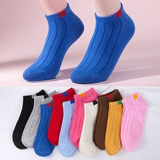 Women Ankle Socks Girls Stripe Casual Boat Socks Fashion Lady Black Short Socks