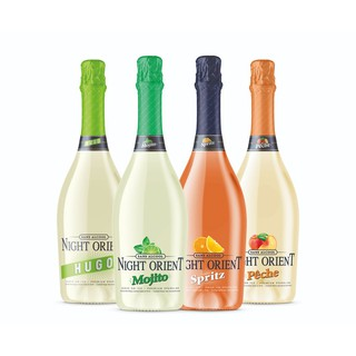 Night Orient Non Alcoholic Sparkling Mocktails Imported From Spain 750ml
