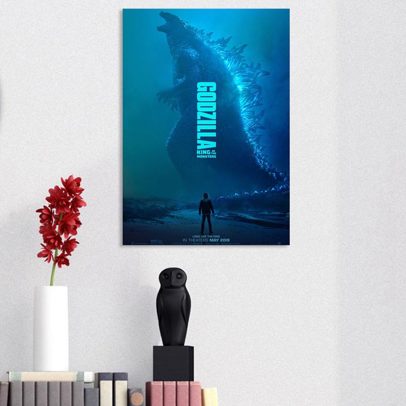 Hot 2019 Godzilla: King of the Monsters Paper Print Movie Poster -16.5 x 11.8''