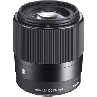 New Sigma 30mm f1.4 DC DN Contemporary Lens for Sony / Canon (Sony A6100 A6400 A6600 // Canon EF-M EOS M6 M200 M100 M50)