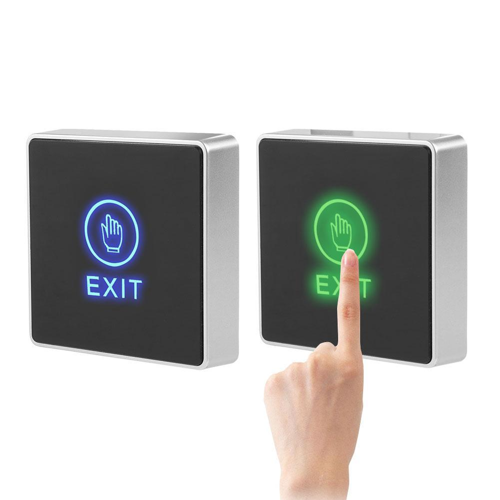 Touch Exit Release Button Switch for Door Access Control System LED Indicator