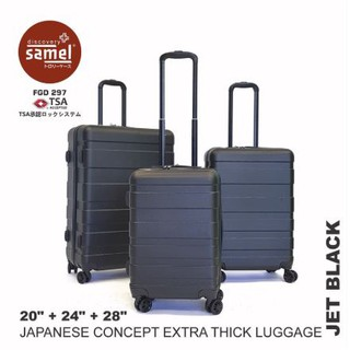 SAMEL FGD 297 JAPANESE CONCEPT EXTRA THICK LUGGAGE 3 IN 1 SET 20'' 24'' 28''
