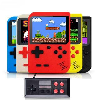 New Built-in 400 Games Retro Video Handheld Game Console+Gamepad 2 Players Doubles 3.0 Inch LCD Game Player