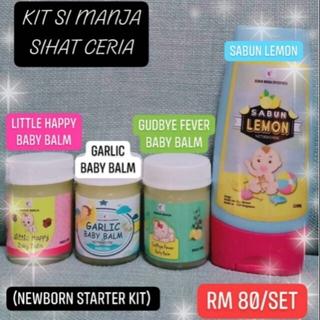 [#FREEGIFT] GARLIC BALM SABUN LEMON FEVER BALM HAPPY LITTLE BABY BALM - BABY LOVE KIT