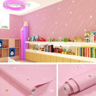 ◘Thickened waterproof 3D self-adhesive wallpaper living room bedroom warm dormitory sticker decorative TV background w