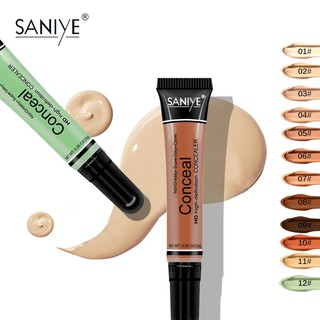 【SANIYE】12 Colors Liquid la PRO HD Concealer Tube Waterproof Flawless Facial Conceal Beauty Makeup