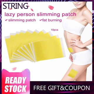 Slimming Patches 10Pcs/Bag Slimming Patches Navel Stick