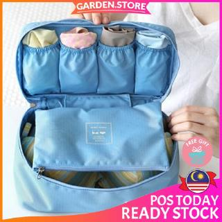 【READY STOCK + 🎁】GS GoTravel 7003 Korean Multipurpose Travel Underwear Organizers Bag