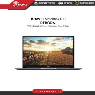 [Pre-Order] - Huawei Matebook D 15 ( 8GB + 256GB) - Fingerprint Login - Original Huawei Malaysia Warranty
