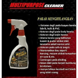 KAZUKO Multipurpose Magic Cleaner 500 ml Good for uphlostery,cushion ,car head light,stuburn dirts