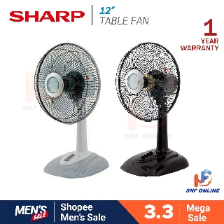 "Sharp 12"" Table Fan PJT-12 PJT12 (Random Colour)"
