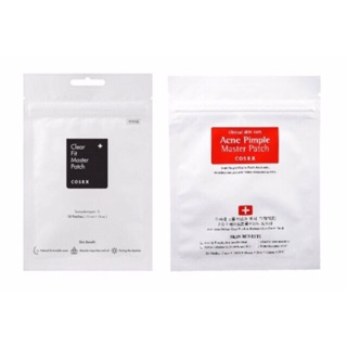 Cosrx Acne Pimple Master Patch( 24 patches) /Clear Fit Master Patch (18 patches)
