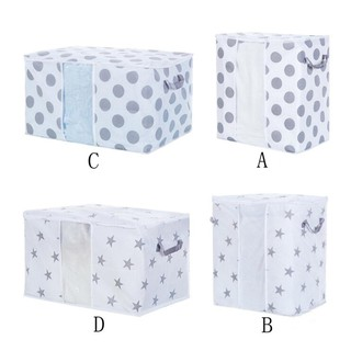 Foldable Storage Bag Clothes Blanket Quilt Box Pouches Non Woven Organizer Case