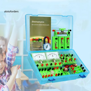 AFOD_Physics Labs Electricity Circuit Magnetism Experiment Kit for Junior High School