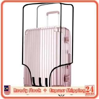 MILANDO Travel Luggage Suitcase Waterproof Luggage Transparent PVC Cover Bagasi (Type 1)