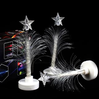 Christmas Merry LED Color Changing Mini Christmas Xmas Tree Home Table Party Decor Charm Party Indoor Lighting