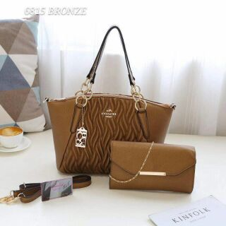 SET COACH 2IN1 HANDBAGS FOR WOMEN