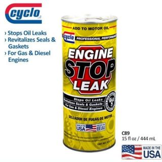 USA PRODUCT # Cyclo engine stop leak - 444ml (High effective)