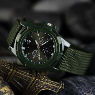 Luxury Sport Military Army Racing Force Officer Fabric Watch