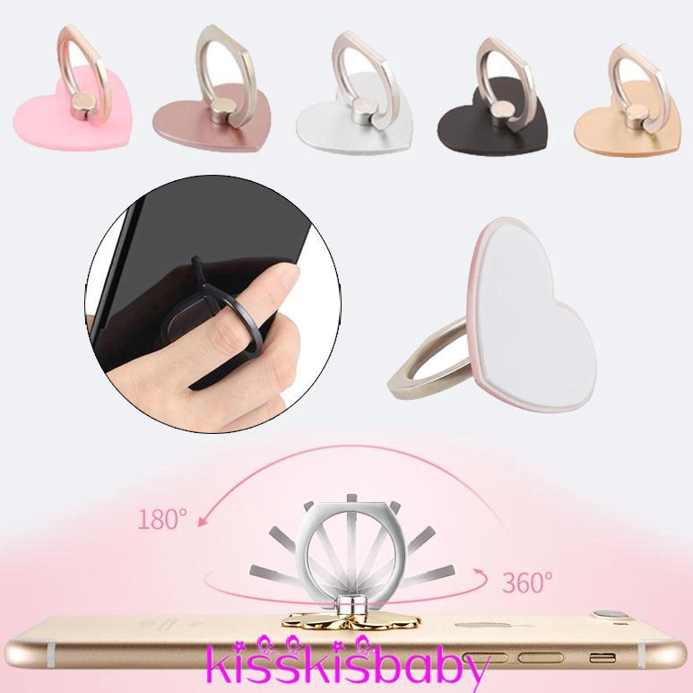 Mobile Phone Stand Convenient Finger Grip Mobile Accessory Ring Handphone