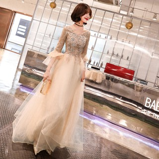 Banquet Evening Dress Women Gas Field Queen Long High-end Very Fairy Ladies Dress Fairy System